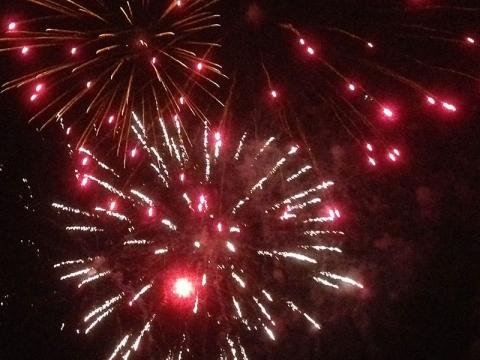 Kingston Firework Display 2013