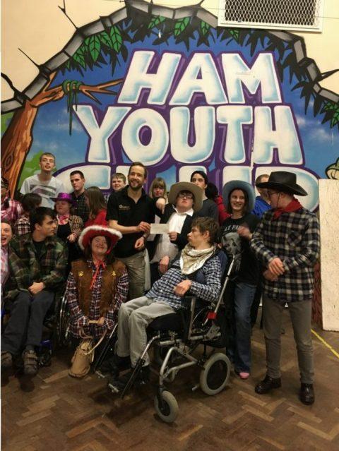 Carol Wagon 2016 – Donation to Local Charity TAG