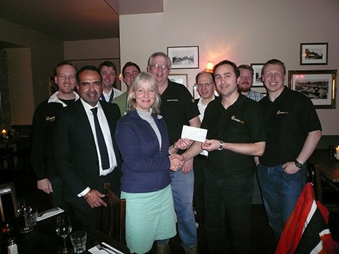 KRT Gives Love Kingston Cheque for £2500