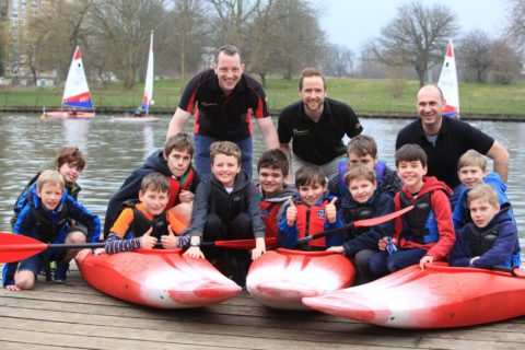 KRT donates kayaks to local Scouts